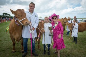 Camelford show winners